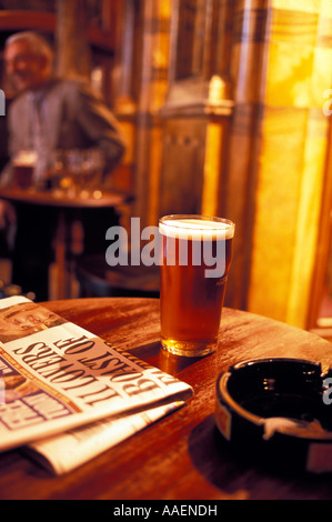 The Black Friars Pub Queen Victoria Street City of London London England United Kingdom - Stock Photo