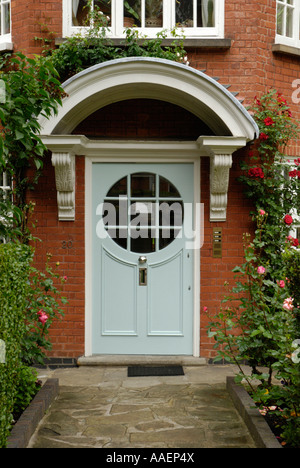 The Sigmund Freud Museum in Maresfield Gardens Hampstead London England - Stock Photo