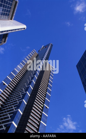 Eureka Tower centre Melbourne Victoria Australia - Stock Photo