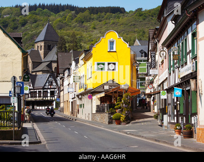 Altenahr in the Ahr Valley, Germany, Europe - Stock Photo