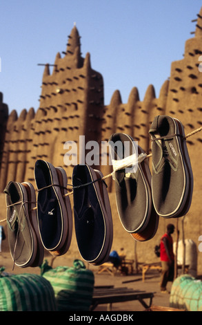 Monday market - Djenné, MALI - Stock Photo