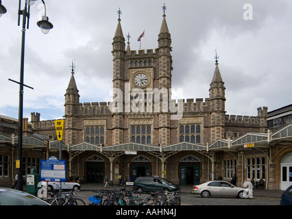 Bristol Temple Meads Railway Station Bristol UK The station main entrance - Stock Photo