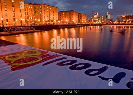 mersey river festival albert dock liverpool UK 2005 - Stock Photo