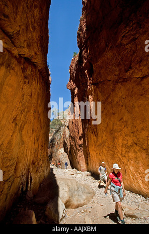 Standlley Chasm West MacDonnell Ranges near Alice Springs Outback Northern Territory Australia - Stock Photo