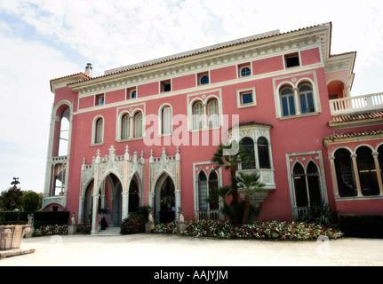 Villa Ephrussi de Rothschild EDITORIAL USE ONLY - Stock Photo
