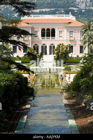 Villa Ephrussi de Rothschild FOR EDITORIAL USE ONLY - Stock Photo