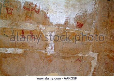 Carvings of ancient egyptian gods inside pylon of mortuary for Ancient egyptian tomb decoration