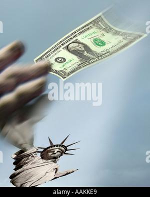 USA - NEW YORK: Statue of Liberty Concept