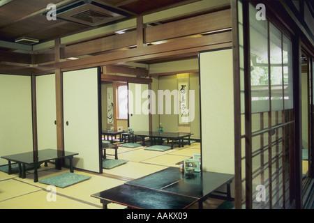 Japan Kyoto Daitoku ji temple teahouse - Stock Photo