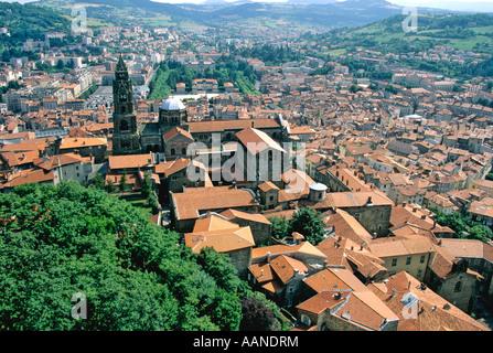 Le Puy en Velay, Le-Puy-en-Velay, Haute Loire, Auvergne, France - Stock Photo