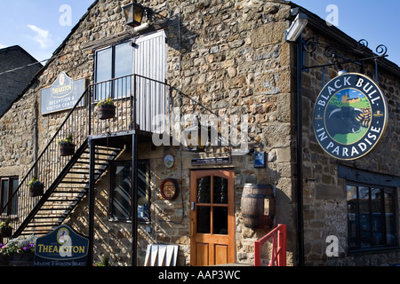 T and R Theakston Brewery Reception and Visitor Centre Masham North Yorkshire England - Stock Photo