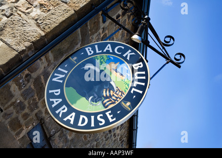 Black Bulll in Paradise Theakston Brewery Visitor Centre Masham North Yorkshire England - Stock Photo