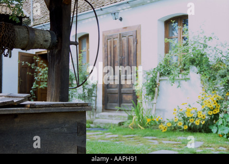 Garden Well in Romania - Stock Photo