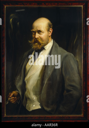 Lord Lionel Walter Rothschild 1868 1937 - Stock Photo