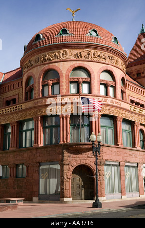 The Barnum Museum called The Barnum Institute of Science and History Bridgeport Connecticut - Stock Photo
