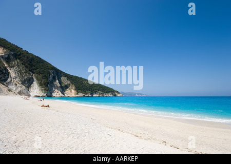 Mirtos Beach, Kefalonia, Ionian Islands, Greece - Stock Photo