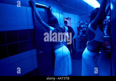 Bathroom Queue riche class of russia stock photo, royalty free image: 7254715 - alamy
