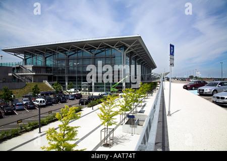 EuroAirport Basel-Mülhouse-Freiburg in France. - Stock Photo