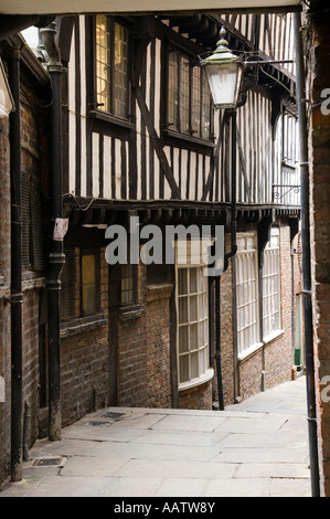 Lady Pecketts Yard York City Centre Yorkshire - Stock Photo