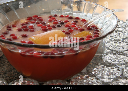 fruit punch bowl healthy vegetables and fruits