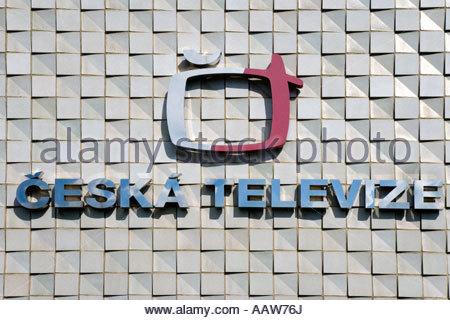 Ceska televize Kavci Hory Pankrac Praha Ceska republika - Stock Photo