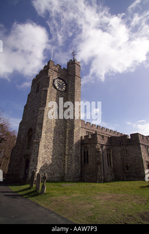 St Mary s Church diocese of Canterbury in the The attractive 15th century village of Chilham Kent England