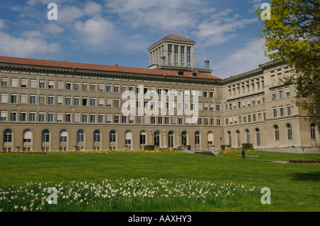 World Trade Organization building in Geneva Switzerland Europe - Stock Photo