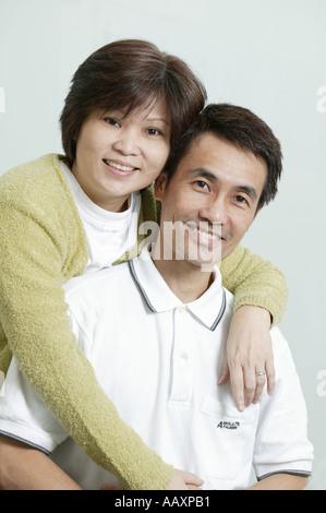 Couple portrait - Stock Photo