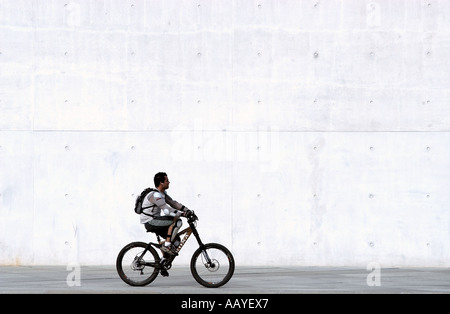 Riding bicycles - Stock Photo