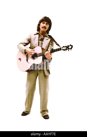 George Harrison making music video for his single Blow Away 1978. PER0041 - Stock Photo