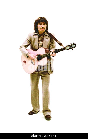 George Harrison making music video for his single Blow Away 1978. PER0042 - Stock Photo