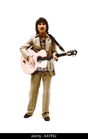 George Harrison making music video for his single Blow Away 1978. PER0043 - Stock Photo