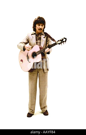 George Harrison making music video for his single Blow Away 1978. PER0044 - Stock Photo
