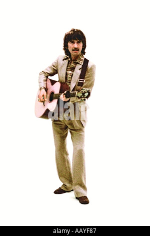 George Harrison making music video for his single Blow Away 1978. PER0045 - Stock Photo