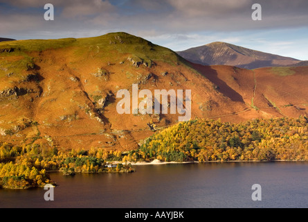 Panoramic View of Cat Bells and Derwent Water, The Lake District, Cumbria, England, UK