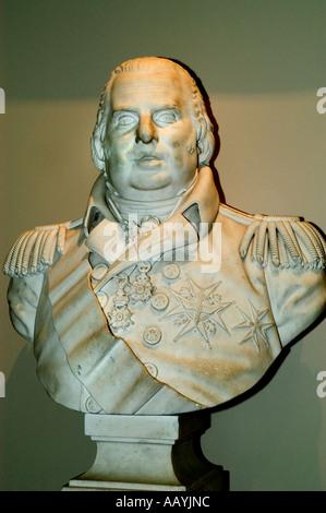 Louis XVIII 18 king of france - Stock Photo