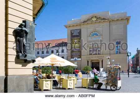 divadlo Hybernia Stare Mesto UNESCO Praha Ceska republika - Stock Photo