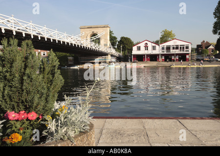 Marlow Rowing Clubhouse - Stock Photo