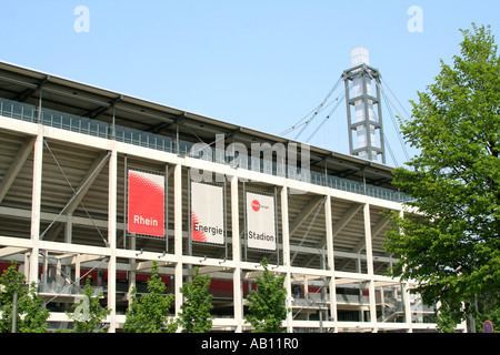 Cologne Football Stadium Rhein Energie Stadion Muengersdorf North Rhine Westphalia Germany - Stock Photo