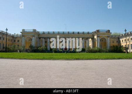 The Alexander Palace favourite residence of the last Russian emperor , Nicholas II - Stock Photo