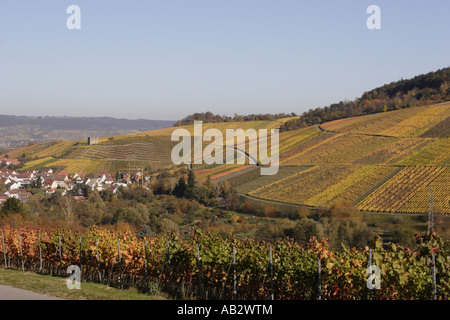 Stetten im Remstal, germany,yburg - Stock Photo