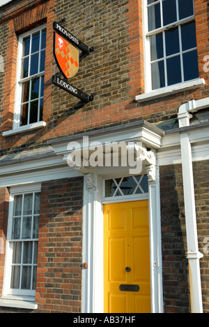 Provosts Lodging house on the South Bank Southwark London - Stock Photo