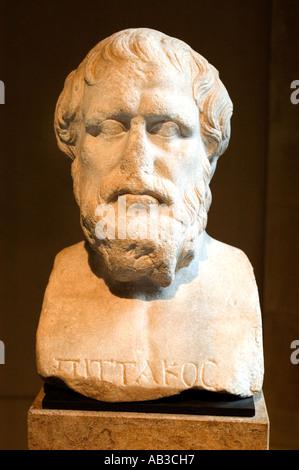 Pittacus philosophy philosopher greek greece - Stock Photo