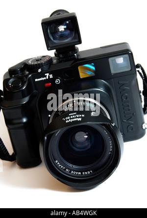 Mamiya 7 Rangefinder Camera  FOR EDITORIAL USE ONLY - Stock Photo