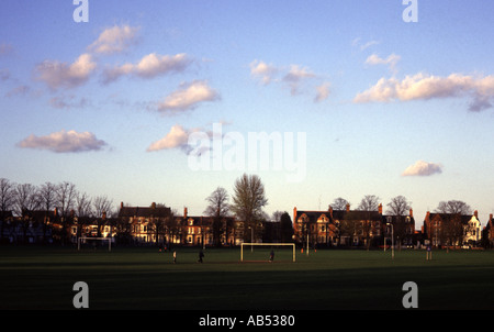 NORTHAMPTON ENGLAND A GENERAL VIEW OF A PUBLIC PARK - Stock Photo
