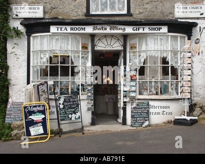 Bats Wing Tea Rooms and Gift Shop - Stock Photo