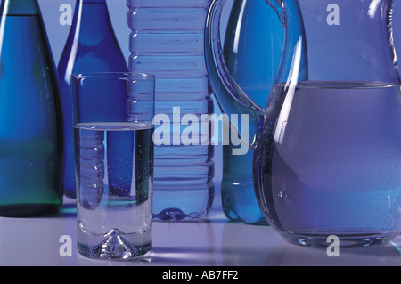 Bottled water - Stock Photo