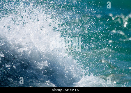 Atlantic Ocean Splash - Stock Photo