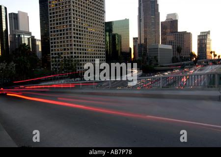 downtown Los Angeles California - Stock Photo