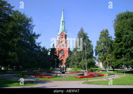 Cathedral in Pyynikki, Tampere, Finland - Stock Photo